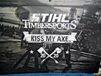 STIHL Timber Sports 'KISS MY AXE' 2020 Calendar