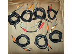 Audio Insert Cable Lot (And More)