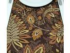 Chocolate Fronds 36inch Table Runner, 12x36
