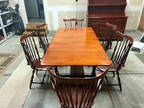 Dining Room Set and Hutch - Cherry - Heywood Wakefield -