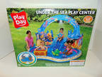 Inflatable Under the Sea Kiddie Swimming Pool Play Center w/