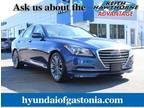 2015 Hyundai Genesis Blue, 44K miles