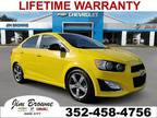 2016 Chevrolet Sonic Yellow, 47K miles