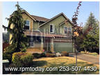 Beautiful 4 BR Home in Bonney Lake!