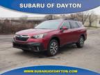 2020 Subaru Outback Red
