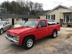 1997 Red Nissan Trucks 2WD