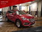 2017 Red Hyundai Santa Fe Sport