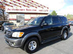 2003 BLACK Toyota Sequoia