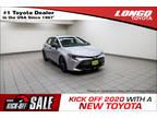 2020 Classic Silver Metallic Toyota Corolla Hatchback