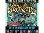 2 Tickets Aerosmith Friday, 9/18/2020, 7:00 PM at Fenway