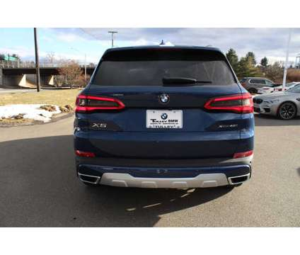New 2020 BMW X5 Sports Activity Vehicle is a Blue 2020 BMW X5 3.0si Car for Sale in Nashua NH