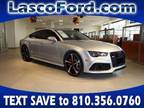 2016 Audi RS 7 Silver, 32K miles