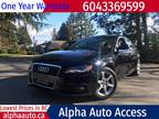 2009 Audi A4, 2.0 Turbo, Quattro, 4dr, Auto, AWD, Local, 120km