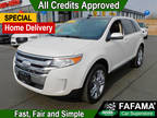 2013 White Suede Ford Edge