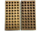 Midway Wood Reloading Tray 1 Ea Size 3 And 5 Holds 9mm And