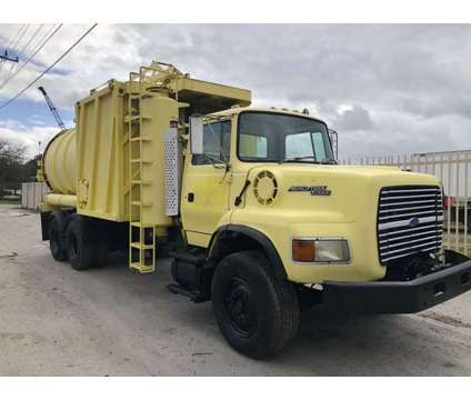 1994 Ford L9000 Vac-con Industrial Vacuum Truck is a 1994 Heavy Equipment Vehicle in Miami FL