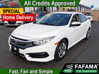 2016 White Orchid Pearl Honda Civic Sedan