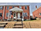 Baltimore 2.5 BA, This end unit townhome has 3 BR