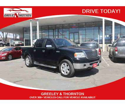 2007 Ford F150 SuperCrew Cab for sale is a Black 2007 Ford F-150 SuperCrew Car for Sale in Greeley CO