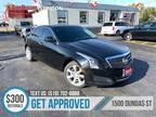 2013 Cadillac ATS RWD LEATHER CAM HEATED SEATS