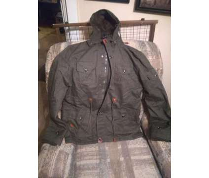 Cargo jacket - large is a Green Suits, Blazers & Jackets for Sale in Overland Park KS
