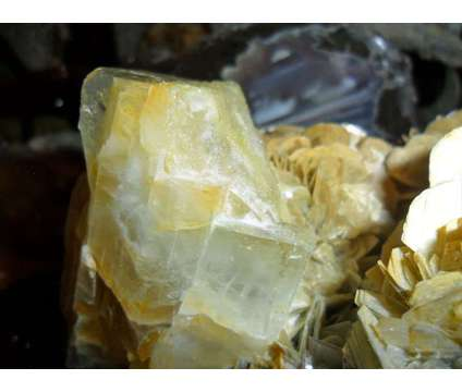 Huge Terminated Aquamarine Cluster on a Beautiful Mica Matrix is a Blue Collectibles for Sale in New York NY
