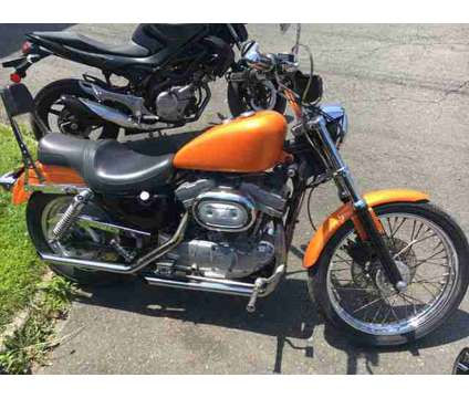 1997 Harley-Davidson XLH883 Sportster for sale is a Orange 1997 Harley-Davidson XL Motorcycle in Lynchburg VA