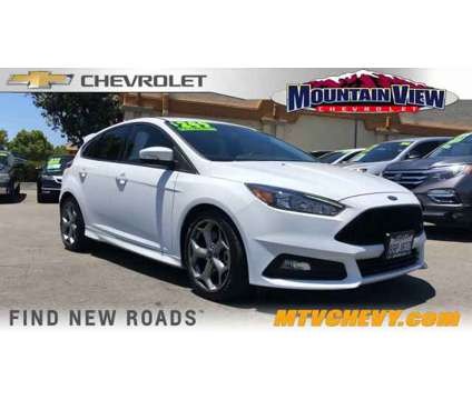 2018 Ford Focus ST is a White 2018 Ford Focus ST Car for Sale in Upland CA