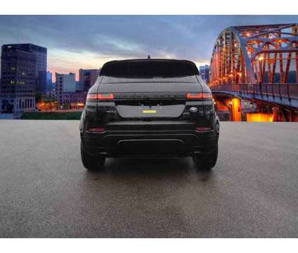 2020 Land Rover Range Rover Evoque R-Dynamic S is a Black 2020 Land Rover Range Rover Evoque Car for Sale in Charleston WV