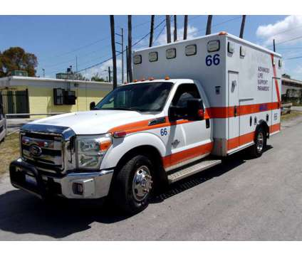 2011 Ford F-350 Emergency Paramedic Ambulance is a 2011 Ford F-350 Other Commercial Truck in Miami FL