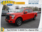 2016 Ford F-150 Red, 70K miles