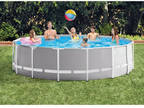"Intex 15' x 48"" Prism Frame Swimming Pool Set"
