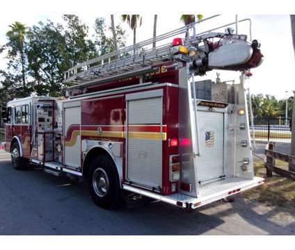 2005 E-One Typhoon Aerial 50 FT Ladder Fire Truck is a 2005 Harley-Davidson E Other Commercial Truck in Miami FL