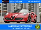 2017 Alfa Romeo 4C 2dr Conv Spider