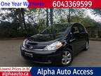 2010 Nissan Versa S HB Auto 1.8, 42km, No accident, One owner, Local