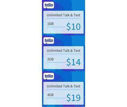 Tello Mobile 15% off Plan & $10 Referal Code P38FCRQP is a Phone and Internet Services service in Rochdale Village NY
