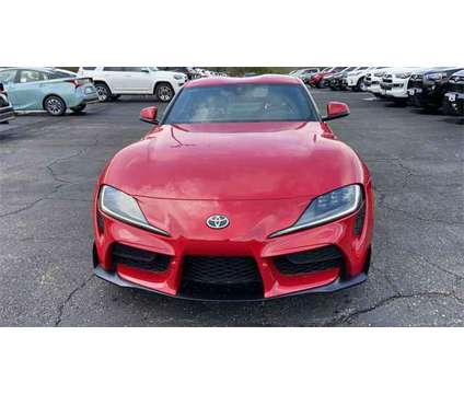 2020 Toyota Supra 3.0 is a Red 2020 Toyota Supra Coupe in Akron OH