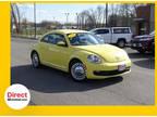 2013 Yellow Volkswagen Beetle