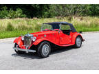 1968 Red MG TD Replica