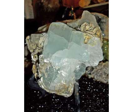 Beautiful Huge Museum Quality of 1884 Grams. Terminated Aquamarine Crystal Clust is a Blue Collectibles for Sale in New York NY