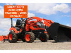 Used 2020 KIOTI DEMO CS2210H Hystat Tractor Loader with 20HR on It!