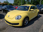 2012 Yellow Volkswagen Beetle