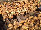 1/2 cord or 1 cord of Dry OAK split firewood