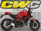 2018 Ducati Monster 797 Plus Red Motorcycle for Sale