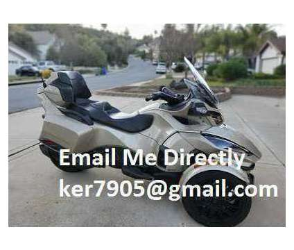 2018 Can Am Spyder RT Limited With Reverse is a 2018 Can-Am Spyder Motorcycles Trike in Au Gres MI