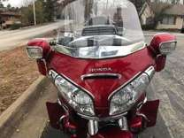 2008 honda gold wing gl18 trike with trailer
