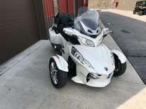 2015 can-am spyder rt limited with trailer