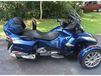 2017 Can Am Spyder RT SE6 Limited Blue Low Miles Trike