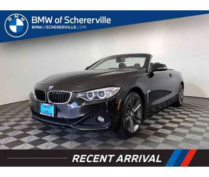 2014 BMW 4 Series 428i xDrive is a Black 2014 BMW 428 Model i Car for Sale in Schererville IN