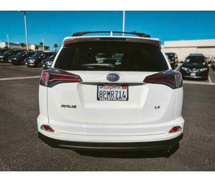2017 Toyota RAV4 LE is a White 2017 Toyota RAV4 LE Car for Sale in Victorville CA